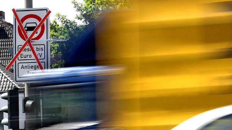 Hamburgo arranca la prohibición contra los vehículos diésel