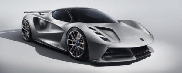 Lotus Evija, el coche eléctrico más potente del mundo