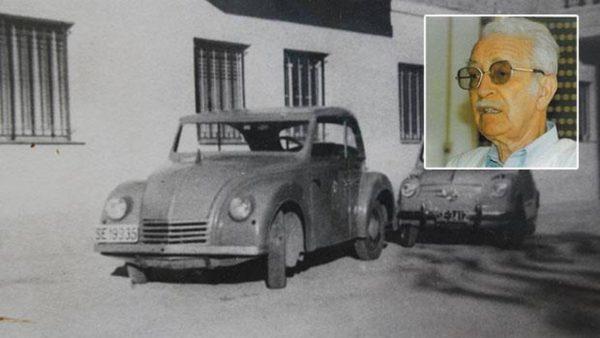 Un sevillano construyó el primer coche eléctrico español en 1946
